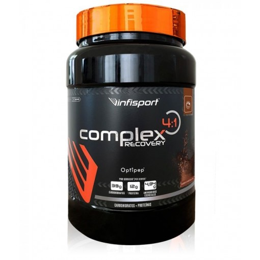 Infisport COMPLEX 4:1 RECOVERY CHOCO / Fresa / cictrico