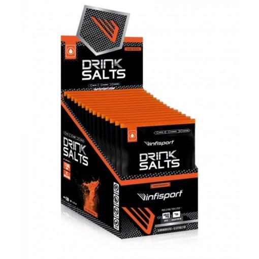 Infisport DRINK SALTS Polvo Naranja/Limon sobre 40g