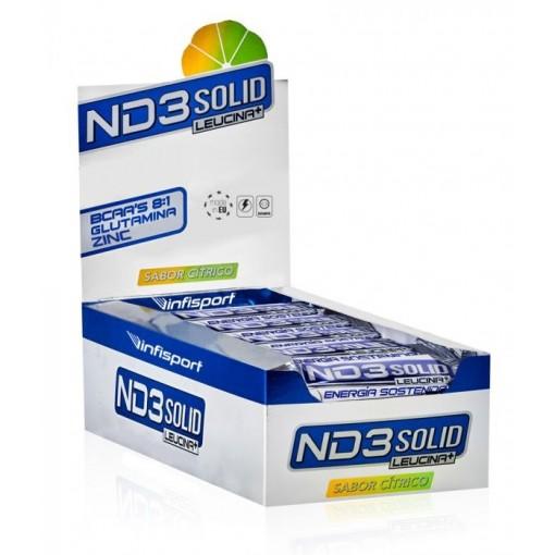 Infisport ND3 Solid Barrita 40 gr Cítrico / Cafeina...